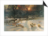 The Shortening Winter's Day Prints by Joseph Farquharson