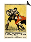 Rugby at Twickenham Posters