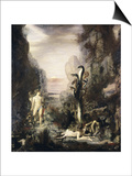 Hercules and the Hydra Poster by Gustave Moreau