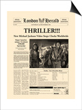 Thriller!!! Print by  The Vintage Collection