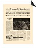 Rumbled In The Jungle! Print