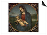 Madonna and Child (Conestabile Madonna) Art by  Raphael
