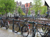 Bicycle, Brouwersgracht, Amsterdam, Netherlands, Europe Posters by Amanda Hall