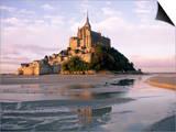 Mont Saint Michel (Mont-St. Michel), Manche, Normandie (Normandy), France Prints by Bruno Morandi