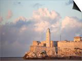 Faro Castilla Del Morro, the Old Fort at the Entrance to Havana Harbour, Havana, Cuba Posters