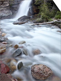 Baring Creek Falls, Glacier National Park, Montana, United States of America, North America Posters by James Hager