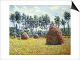Haystacks at Giverny Prints by Claude Monet