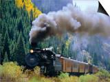 Steam Train, Durango & Silverton Railroad, Silverton, Colorado, USA Prints by Jean Brooks