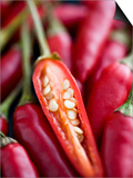 Red Thai Chillies Prints by Greg Elms