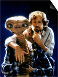 E.T. 1982 Directed by Steven Spielberg Director Steven Spielberg and E.T. Print