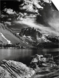 Mountains, Sierra Nevada, California, United States of America, North America Posters by Antonio Busiello