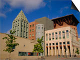 Art Museum and Public Library, Denver, Colorado, USA Print by Jean Brooks