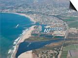 Aerial Photo of Ventura Marina, Ventura, California, United States of America, North America Prints by Antonio Busiello