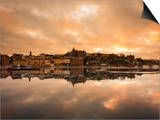 View over the River at Sunset, Djurgarden, Stockholm, Sweden, Scandinavia, Europe Prints by Ian Egner