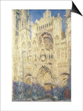 Rouen Cathedral in the Afternoon Prints by Claude Monet