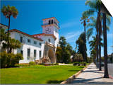 County Courthouse, Santa Barbara, California, USA Prints by Alan Copson