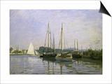 Bateau de Plaisance, Argenteuil Posters by Claude Monet