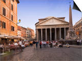 The Pantheon, Rome, Lazio, Italy, Europe Posters by Angelo Cavalli