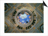 Camera Degli Sposi: Ceiling Oculus Prints by Andrea Mantegna