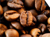 Close-Up of Coffee Beans, Filling the Picture Art by Dieter Heinemann