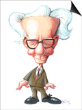 B. F. Skinner, Caricature Posters by Gary Brown