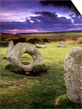 Men-an-tol Standing Stones Prints by Chris Madeley