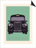 London - Cab I Posters by Ben James