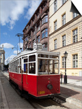 City Tram, Old Town, Wroclaw, Silesia, Poland, Europe Prints by Frank Fell