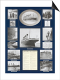 Titanic Poster Prints by Father Francis Browne