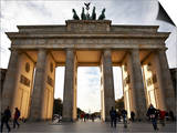 Brandenburg Gate, Berlin, Germany, Europe Print by Matthew Frost