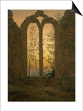 A Dreamer Posters by Caspar David Friedrich