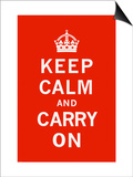 Keep Calm and Carry On Posters by  The Vintage Collection