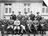 World War II Photo of the Senior American Military Commanders of the European Theater Prints