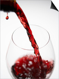Pouring Red Wine Prints by Joerg Lehmann