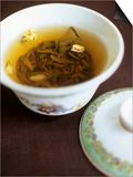 Chinese Jasmine Tea Art by Tara Fisher