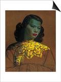Vladimir Tretchikoff - Çinli Kız - Poster
