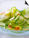 Cucumber Salad with a Chilli Dressing (Thailand) Posters