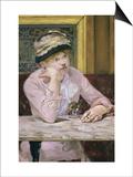 La Prune Posters by Édouard Manet