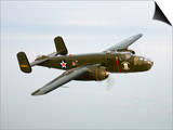 A North American B-25 Mitchell in Flight Posters by  Stocktrek Images