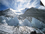 Seracsin Front of Mount Everest Prints by Michael Brown