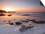 Dawn on Kennack Sands on the Lizard Peninsula in Cornwall, England, United Kingdom, Europe Prints by Julian Elliott