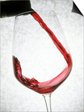 A Glass of Red Wine Art by Steven Morris