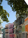 The Colonial Town, San Juan, Puerto Rico, West Indies, Caribbean, USA, Central America Prints by Angelo Cavalli