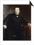 Grover Cleveland, (President 1885-1889) Prints by Eastman Johnson
