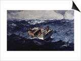 Gulf Stream Poster by Winslow Homer