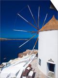 Oia, Santorini, Cyclades, Greek Islands, Greece, Europe Prints by Sakis Papadopoulos