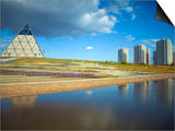 Palace of Peace and Reconciliation Pyramid Designed by Sir Norman Foster, Astana, Kazakhstan Prints by Jane Sweeney