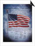 Die Unabhängigkeitserklärung am 4. Juli 1776, John Trumbull Kunstdrucke