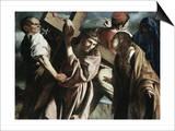 Calvary Prints by  Caravaggio