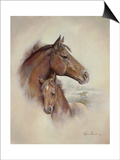 Race Horse II Prints by Ruane Manning